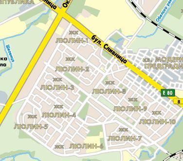 Spravochnik Blgariya Kvartal Lyulin 1